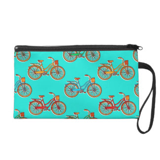 Light Blue Bicycle Wrist Bag