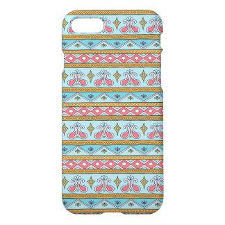 Light Blue Boho Style iPhone 7 Case