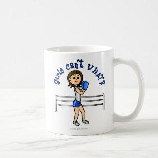 Light Blue Boxer Coffee Mugs