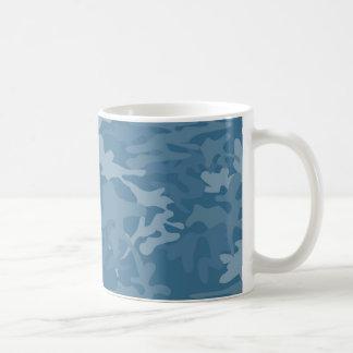 Light Blue Camo Mug