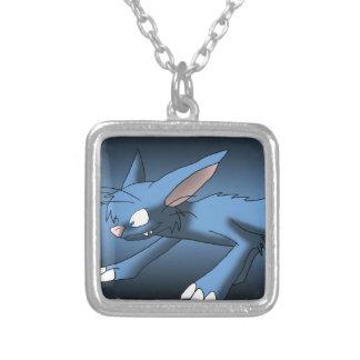 Light Blue Cat Dragon Pendant