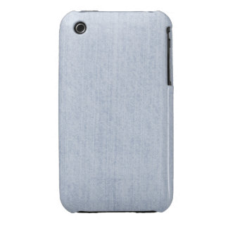 Light Blue Chenille Fabric Texture iPhone 3 Covers