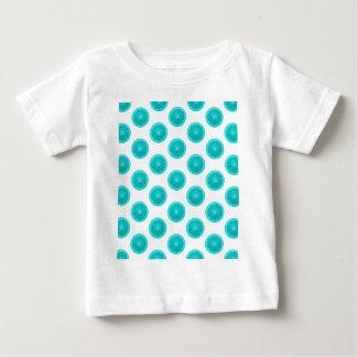 Light Blue Citrus Slice Polka Dots Shirts