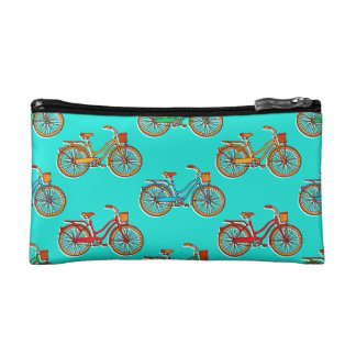 Light Blue Cosmetic Bag