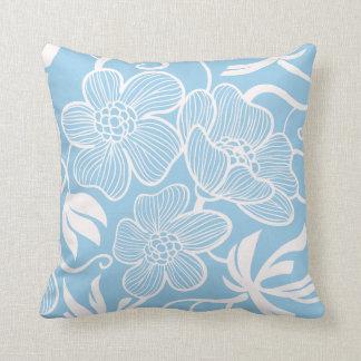 Custom Light Blue Throw Cushions Zazzlecouk