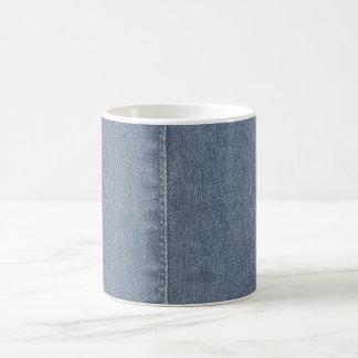 Light Blue Denim Seam Coffee Mug