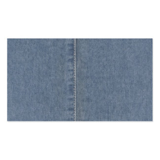 Light Blue Denim Seam Pack Of Standard Business Cards