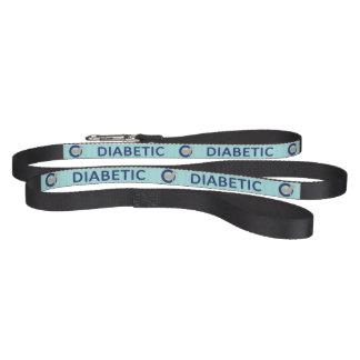 Light Blue Diabetic dog alert Pet Leash