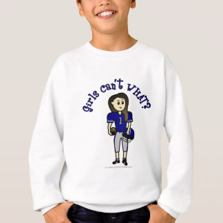 Light Blue Football Sweatshirt