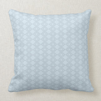 Light blue French crochet Polyester Throw Pillow