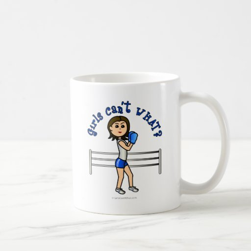 Light Blue Girl Boxer Mug