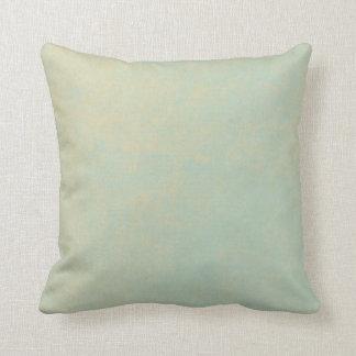 LIght Blue Grungy Background Pillow
