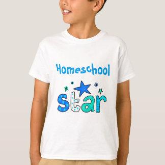 Light Blue Homeschool Star T-Shirt