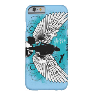 Light blue kciafa barely there iPhone 6 case