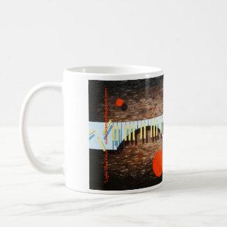 Light Blue Keys Coffee Mug