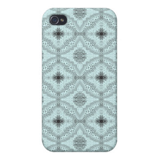 Light Blue Lacy Diamond Iphone 4/4S Case