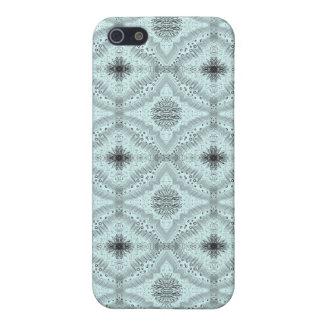 Light Blue Lacy Diamond Iphone 4/4S Case