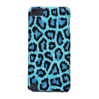 Light blue Leopard Pattern iPod Touch (5th Generation) Cases