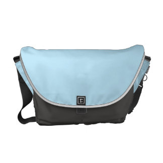 Light Blue Messenger Bag