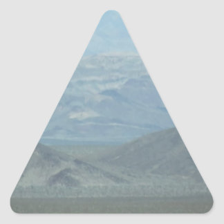 Light Blue Mountains Stickers