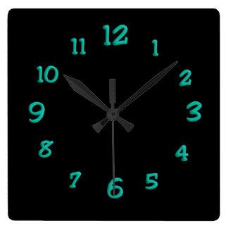 Light Blue Paint Clock Face