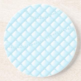 Light blue pearls coaster