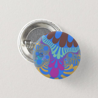 Light Blue Rainbow Mod Small Button