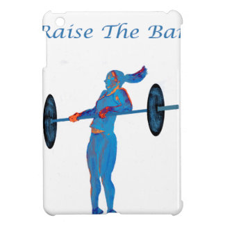 Light Blue Raise The Bar t-shirt and accessories iPad Mini Cases