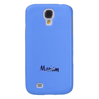 Light Blue Samsung Galaxy s4 cover for Mariam