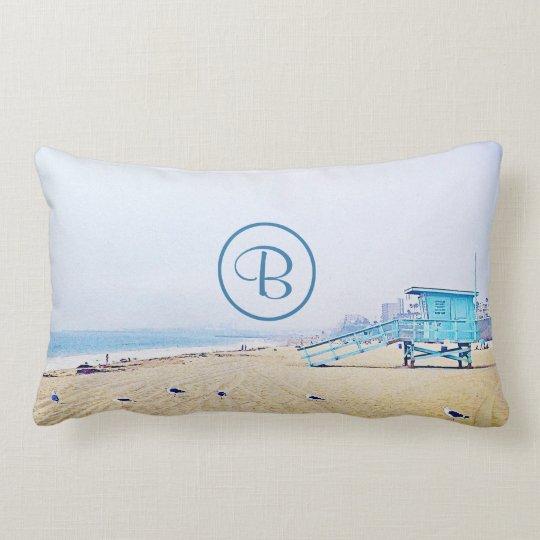 Light blue sky & sandy beach photo custom