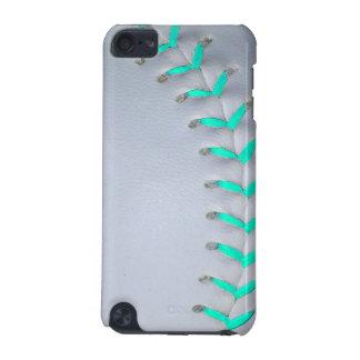 Light Blue Softball / Baseball iPod Touch 5G Covers