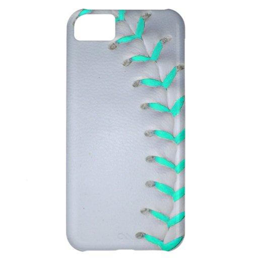 Light Blue Softball / Baseball iPhone 5C Cover