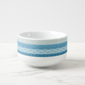 Light Blue Soup Mug