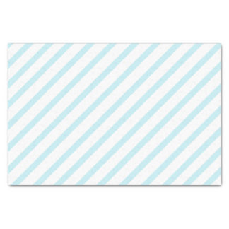 Light Blue Stripe Tissue Paper