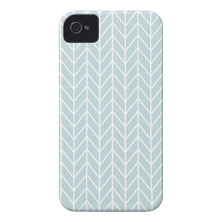 light blue stripes pattern Case-Mate iPhone 4 cases