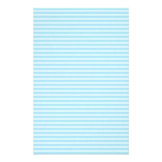 Light Blue Stripes. Stationery