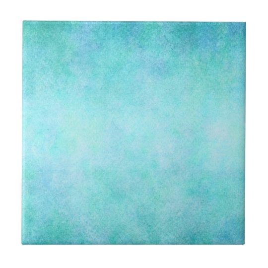 Light Blue Teal Aqua Watercolor Paper Colourful Tile