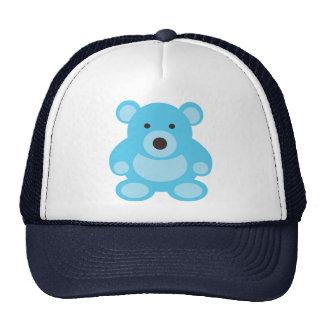 Light Blue Teddy Bear Cap
