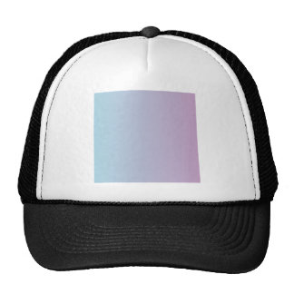 Light Blue to Lilac Vertical Gradient Mesh Hats