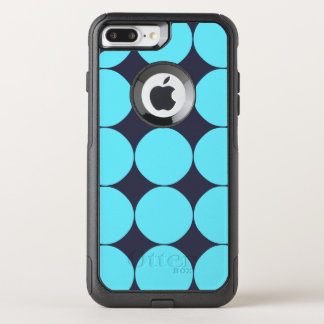 Light Blue Turquoise Pattern OtterBox Commuter iPhone 8 Plus/7 Plus Case