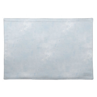 Light Blue Watercolor Wash Cloth Placemat