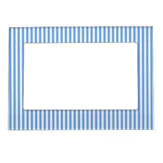 Light Blue & White Sailor Stripes Picture Frame