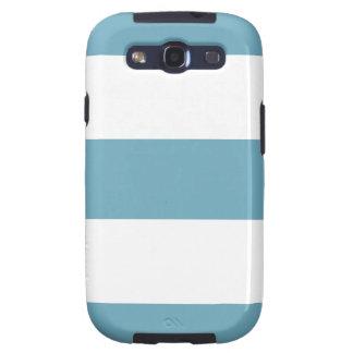 Light Blue & White Samsung Galaxy Case Samsung Galaxy SIII Cover