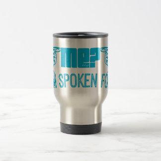 light blue - who ME? I'M SPOKEN FOR. Mug