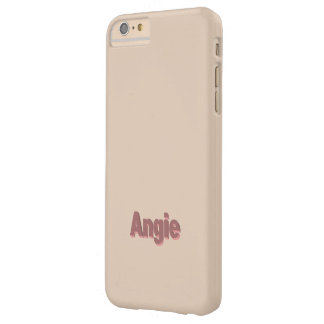 Light Brown iPhone 6 Plus case for Angie