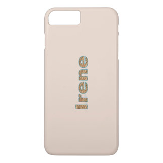 Light Brown iPhone 7 Plus case of Irene