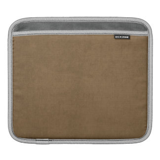 Light brown leather texture iPad sleeves