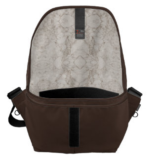Light Brown Marble Look Commuter Bag