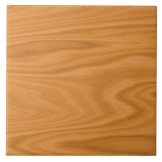 Light brown wood tile