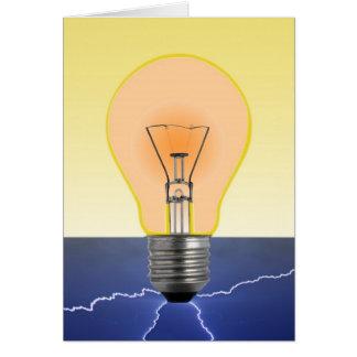 Light Bulb Cards